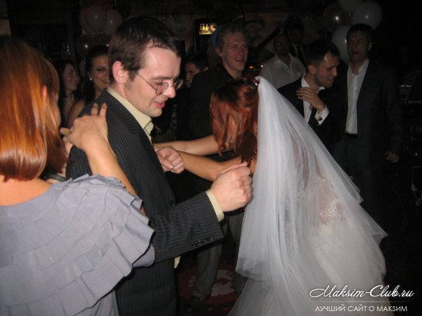 Свадба певицы максим фото